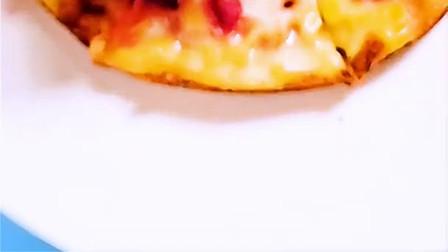 红肉火龙果披萨,宝宝超爱辅食制作