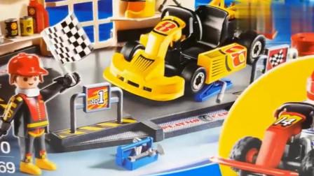 儿童工程车卡通 水泥搅拌车挖掘机翻斗车超级麦大叔工作视频