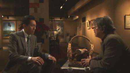 五郎受委托制作茶杯,主题是静谧,让他联想到鱼缸里杯子