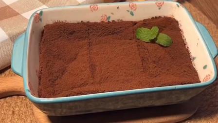 吐司提拉米苏,满满的可可香味