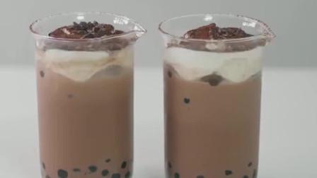 芝士巧克力波霸奶茶,全世界还有谁,比我们还绝配!