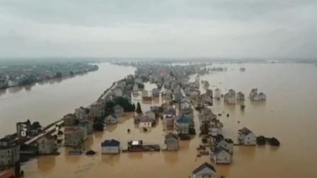 上饶部分乡镇被洪水吞没 全市113万人受灾经济损失达9亿元