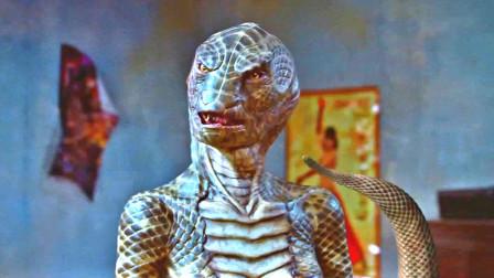 传说中的美女蛇怀孕后受到人类侵扰
