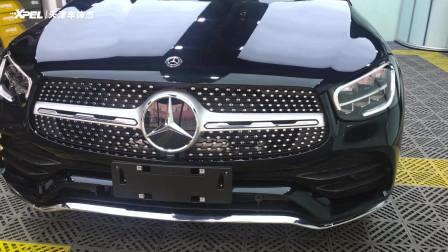 松石绿色 | 奔驰GLC300L贴隐形车衣XPEL-PROTEX 长轴距GLC SUV,卓群品质,当为英雄所尊享。