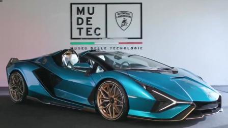 Lamborghini Sián Roadster,预算充足你真的不心动?