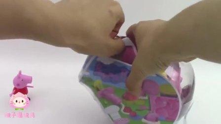 小猪佩奇彩泥玩具:跟小猪佩奇一起制作美味小蛋糕