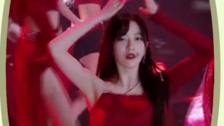 小猪佩奇一家子看《炙热的我们》,SNH48红裙小姐姐红裙热舞绝了