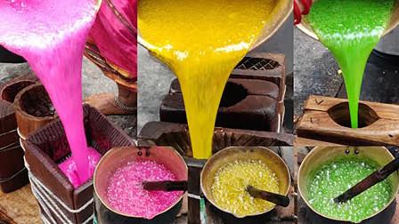 印度传承了500年的天价糖,看完制作过程后,你还想吃么?