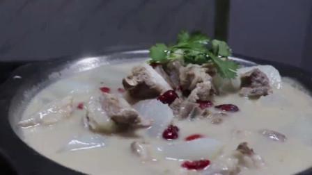 原汁原味羊肉汤的制作过程