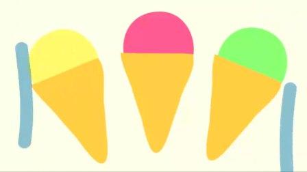 小猪佩奇:猪爸爸买了佩奇最喜欢的草莓冰淇淋!