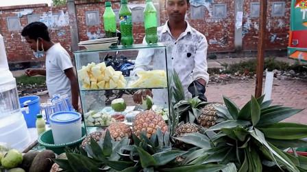 印度人最爱的廉价水果,切块后加点调料拌一拌,根本尝不出好坏!