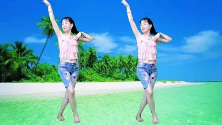天太热光脚版跳一个《小行囊》超强的节奏感爆汗健身好舞蹈