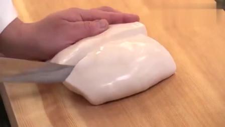 日本料理,河豚身上一块顶级的食材,嫩白如奶油一般!