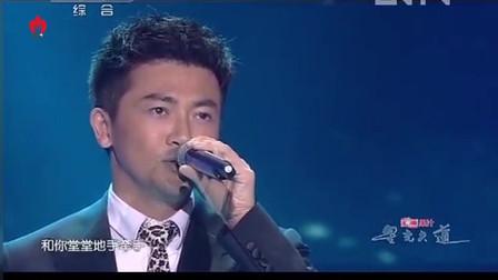 苏有朋现场的一首《相见太晚》感动众人,台下EXO的表情亮了