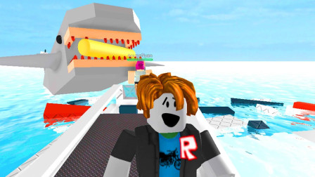 阿火解说roblox虚拟世界:史诗小游戏连胜太难了,反应慢一点就输
