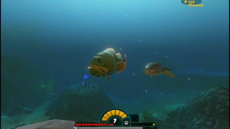 海底大猎杀:大嘴鱼太厉害了