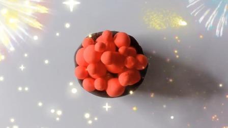 欢乐多彩泥 樱桃小丸子最爱的生日蛋糕