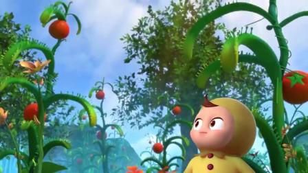 胖大海唱歌是有多难听,竟然成功打败了番茄怪物!