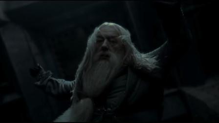 哈利·波特6:马尔福要杀校长,哈利目睹了一切