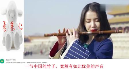 歪果仁看中国:中国小姐姐笛子吹奏《权御天下》火到外网,油管评论:我要去中国