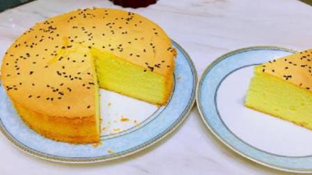 """别再浪费面粉了,教你这样做""""戚风蛋糕"""",比买的还要好吃"""