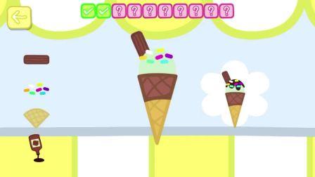小猪做了个冰淇淋,佩佩会爱这个冰淇淋吗?小猪佩奇游戏(1)