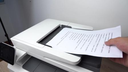 惠普激光打印机输稿器放纸