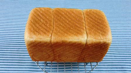 无黄油版淡奶油吐司面包,分享夏季面包发酵需要避开的误区