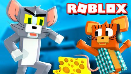 小格解说 Roblox 猫和老鼠:小猪佩奇世界逃生!汤姆杰瑞大冒险?乐高小游戏