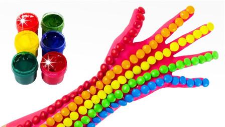 百变创意DIY彩虹小手儿童玩具,循环创意激发宝宝色彩创造力!