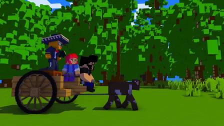 我的世界动画-乱斗之奶牛大军-WillCrafter
