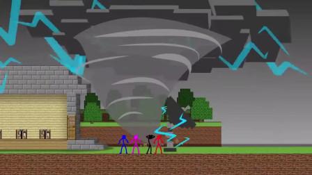 我的世界动画-火柴人学院-Sticktoon