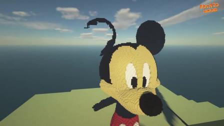 我的世界动画-如何造米老鼠-Potato Noob
