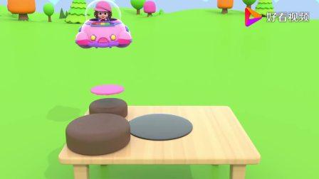益智早教制作一个四层超级大蛋糕