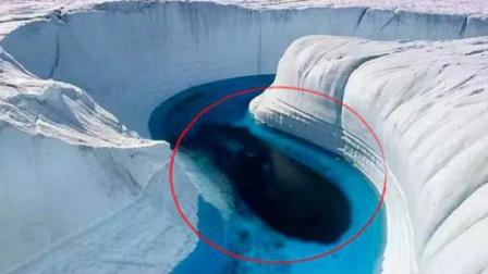 地球温室效应愈发严重,南极冰川大量融化,科学家:竟出现这种东西!