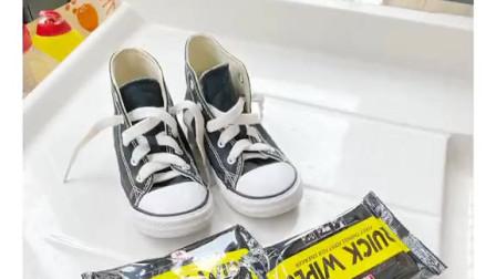 大神们都在用的懒人擦鞋神器,小白鞋一擦即白,还不用手洗