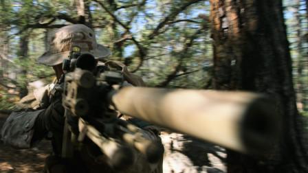 美国海军陆战队深入敌后 遭到塔利班疯狂猎杀 看得让人惊心动魄!