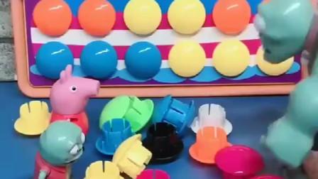 儿童玩具 小怪兽让爸爸拼生日蛋糕拼图, 还要变成真蛋糕, 这该怎么做呢