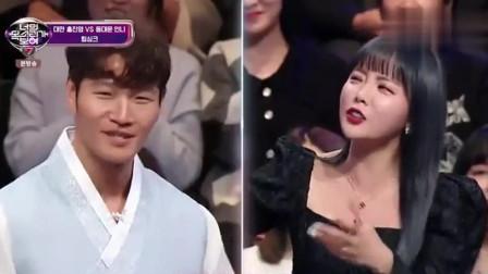 韩娱:洪真英现场演唱《月亮代表我的心》,这中文发音太标准了,连金钟国都点赞