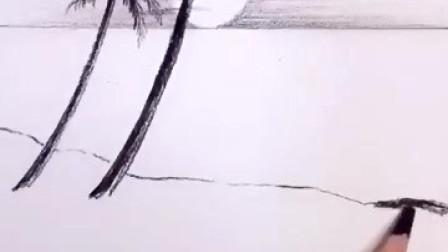 插画也不难,30秒教你,不会画,多画几遍