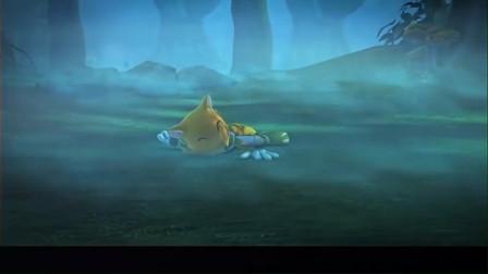 蓝猫龙骑团:炫迪以为菲菲捉弄他,结果菲菲昏倒了