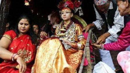 """尼泊尔""""活女神""""4岁受万人朝拜,退位后却无人敢娶,答案令人心酸"""