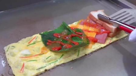 配个bgm吃鸡蛋卷火腿芝士三明治,也有恋爱的味道这款爱心早餐,就等国家分配个对象做给我吃了!