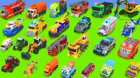 玩具车益智儿童故事:卡车运输垃圾分类玩具,看完我就转发