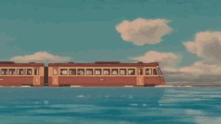 鄱阳湖变《千与千寻》:经过鄱阳湖动车,乘客坐出轮渡的感觉