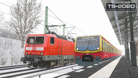 模拟列车2020 - DB BR481 #4:雪天限速60 驾驶BR481从泰尔托城出发 | Train Simulator 2020