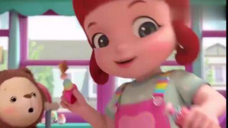 彩虹宝宝:和心宝一起去彩虹小镇帮助大家!彩虹小镇,我们来喽