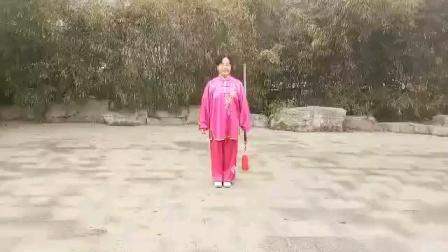 54式传统太极剑慢动作教学视频