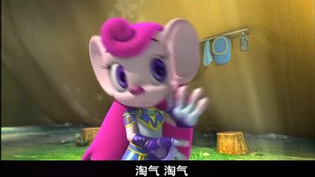 蓝猫龙骑团:淘气本来很生气,但一看咖喱撕画,忘记炫迪不听话了