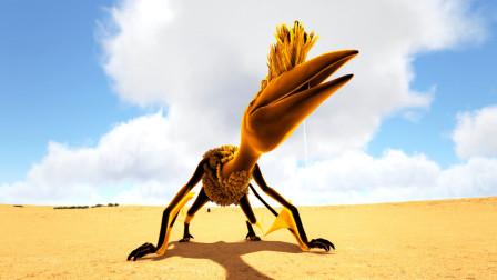 方舟生存进化:救赎27 灵活自如的长者大仙鹤 骑它就像开飞机